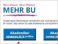 Volkswohl Bund: Mehr BU!?