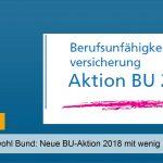 Volkswohl Bund: Neue BU-Aktion 2018 mit wenig Fragen – verlängert
